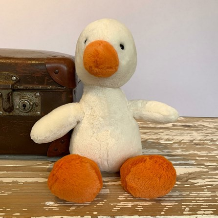 Jellycat Nimbus Duck Soft Toy