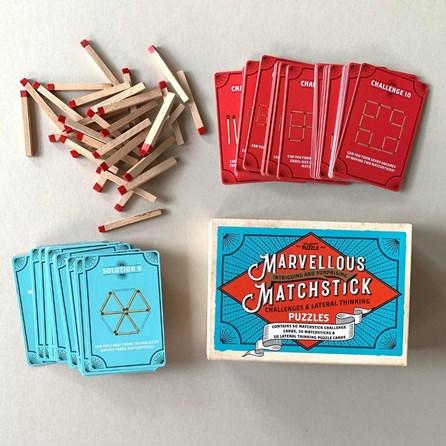 Marvellous Matchstick Puzzles