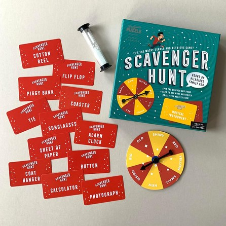 Scavenger Hunt Search and Retrieve Game
