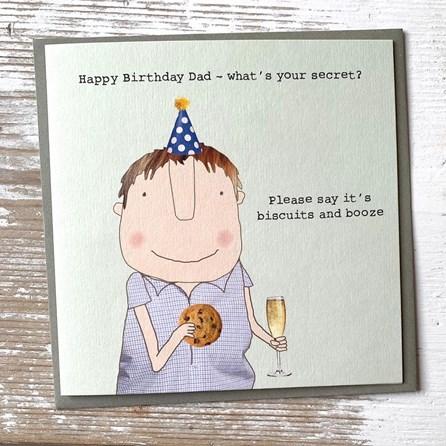 'Happy Birthday Dad...' Greetings Card