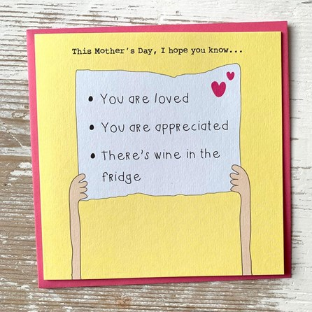 'This Mother's Day, I Hope You Know…' Greetings Card