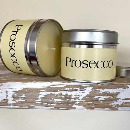 Pintail 'Prosecco' Scented Candle Tin