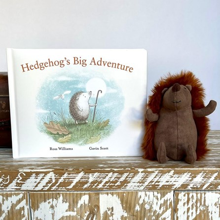 Jellycat 'Hedgehog's Big Adventure' Book