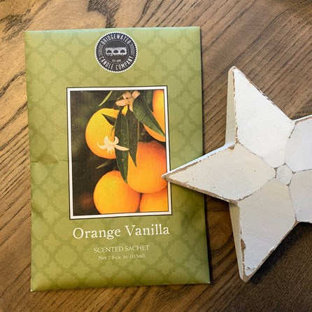 Scented Room Sachet - Orange Vanilla