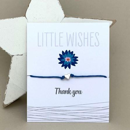 'Thank You' Wish Bracelet