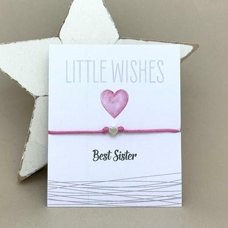 'Best Sister' Wish Bracelet