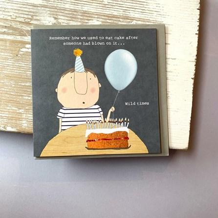 '...Wild Times' Birthday Card