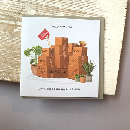 'Happy New Home...' Greetings Card
