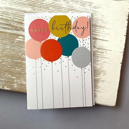'Happy Birthday' Greetings Card