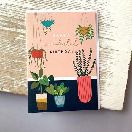 'Have A Wonderful Birthday' Greetings Card