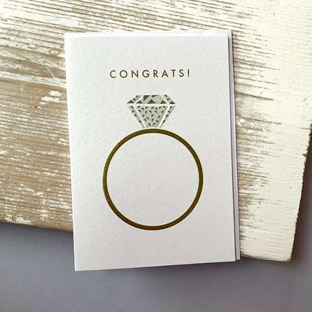 'Congrats!' Greetings Card