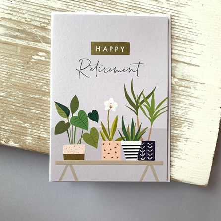 'Happy Retirement' Greetings Card