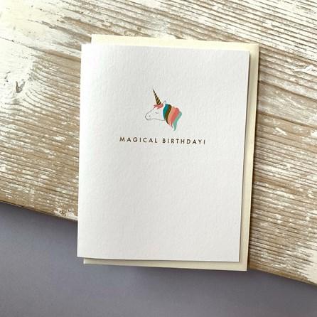 'Magical Birthday!' Greetings Card