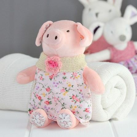 Cuddly Newborn Soft Toy Pig