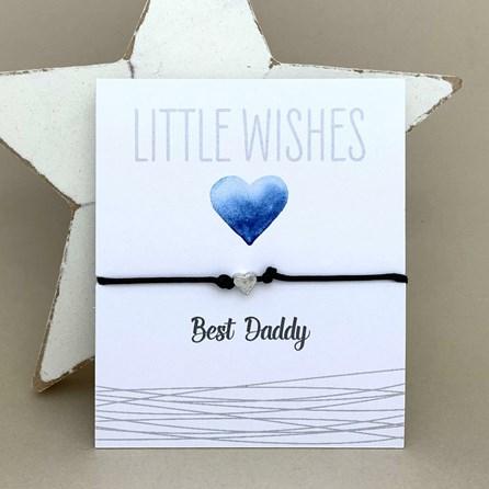 'Best Daddy' Wish Bracelet