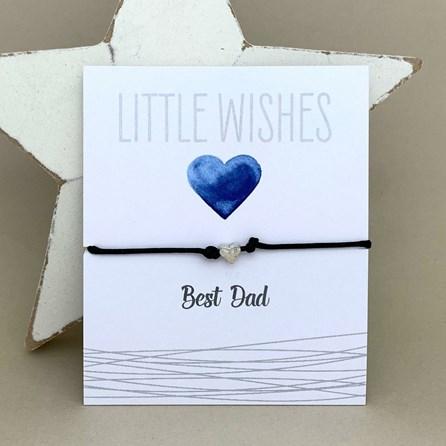 'Best Dad' Wish Bracelet
