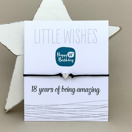 '18 Years Of Being Amazing' Wish Bracelet
