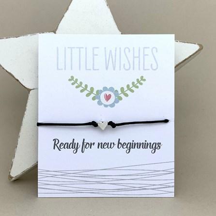 'Ready For New Beginnings' Wish Bracelet