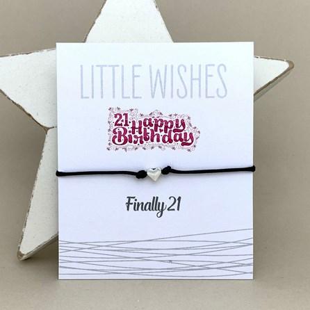 'Finally 21' Wish Bracelet