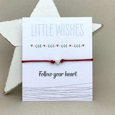 'Follow Your Heart' Wish Bracelet