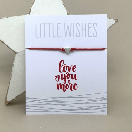 'Love You More' Wish Bracelet
