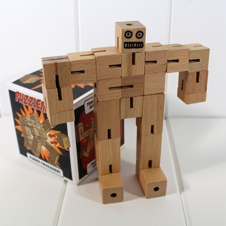 Puzzleman Wooden Jointed Puzzle