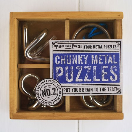 Chunky Metal Puzzles