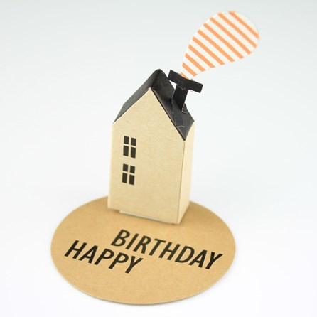 'Happy Birthday' House Greeting Decoration