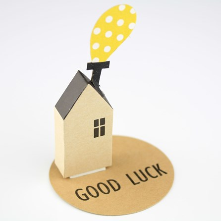 'Good Luck' House Greeting Decoration