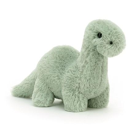 Jellycat Fossilly Brontosaurus Mini Soft Toy