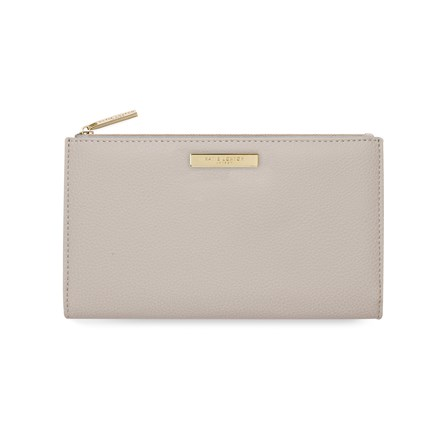 Katie Loxton Personalised Alise Fold Out Purse In Stone