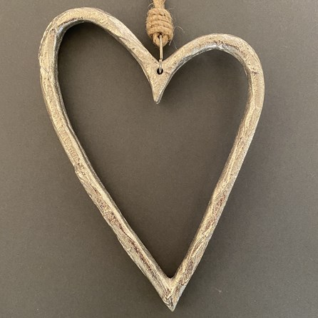 Hollow Heart Hanging Decoration