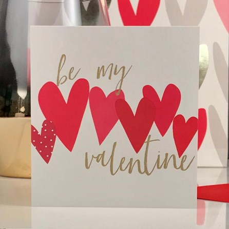 Caroline Gardner 'Be My Valentine' Card