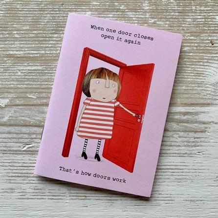 'When one door closes...' Notebook