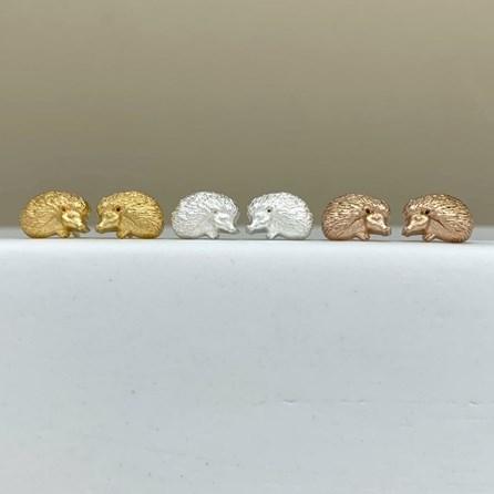 Hedgehog Stud Earrings