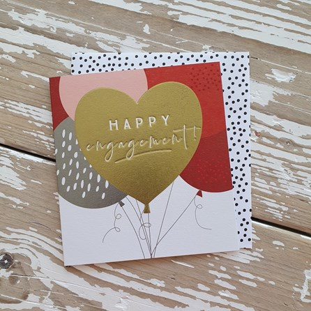 'Happy Engagement!' Greetings Card