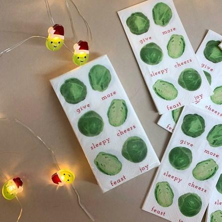 Botanical Sprout Pocket Tissues