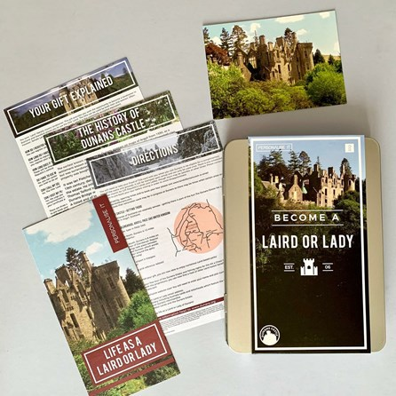 Become a Laird or Lady Gift Tin
