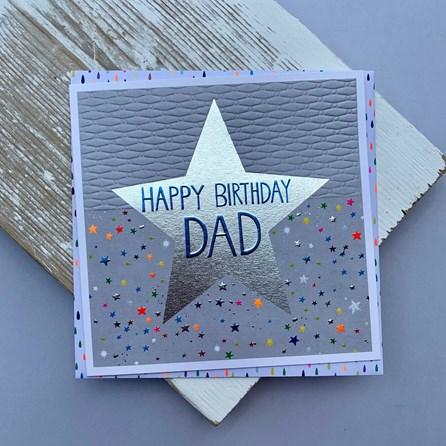 'Happy Birthday Dad' Greetings Card