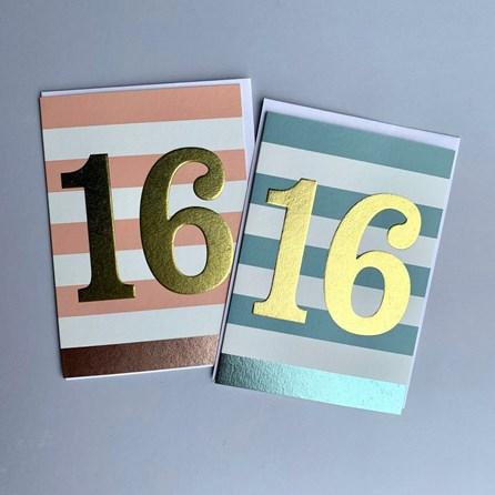 Children's 16th Birthday Card