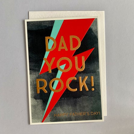 'Dad You Rock!...' Father's Day Card
