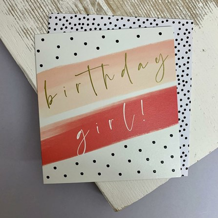 'Birthday Girl' Greetings Card