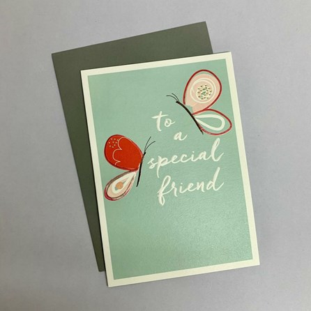 'To A Special Friend' Greetings Card