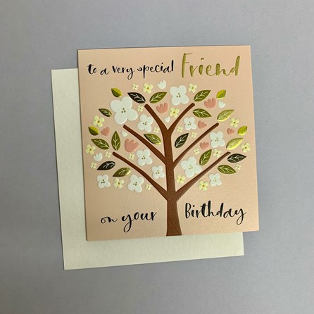 'To A Very Special Friend...' Greetings Card