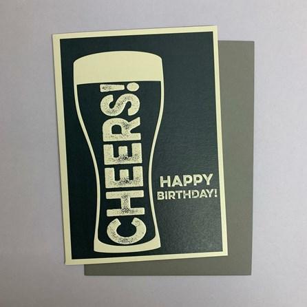'Cheers!...' Greetings Card