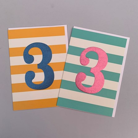 Children's 3rd Birthday Card