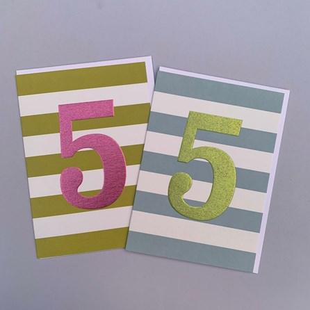 Children's 5th Birthday Card