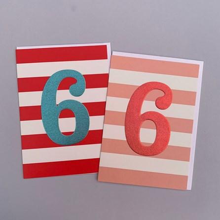 Children's 6th Birthday Card