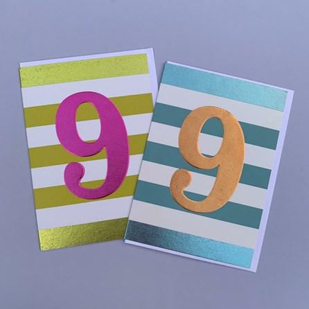 Children's 9th Birthday Card