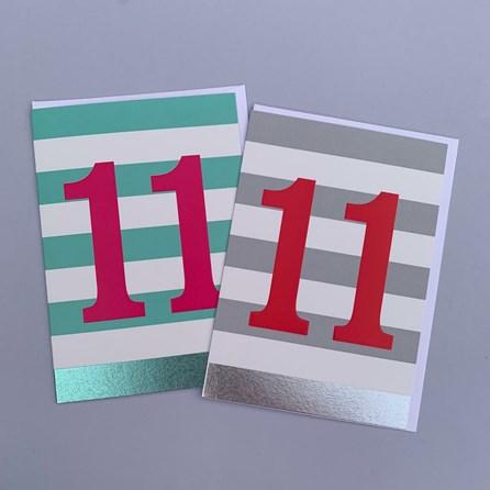 Children's 11th Birthday Card